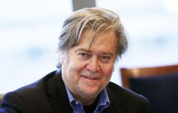 In the Sunday Time, Bannon scoffed at the firestorm caused by Johnson's comments, which were made in an op-ed arguing against banning full-face veils.