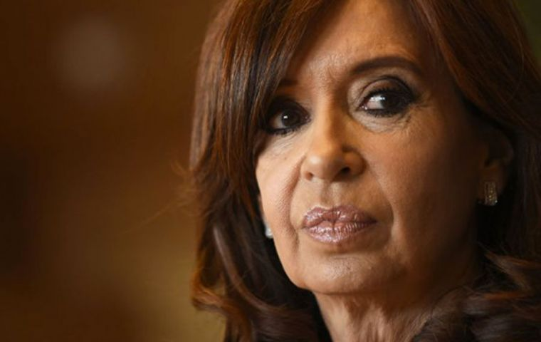 Senator Cristina Fernandez is a serious candidate for the 2019 presidential election