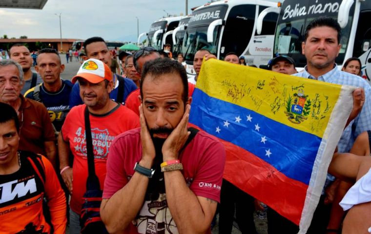 Peruvian Migration Office recorded last Saturday the largest number of Venezuelan citizens who entered the country in a single day: more than 5,100 people.