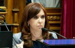 "Debate in the Senate was lively with Cristina Fernandez allies attacking Judge Bonadio, president Mauricio Macri, and his economic policies, and ""big media"""