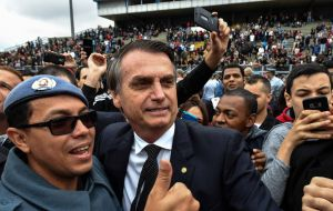 Far-right candidate Jair Bolsonaro was in second place with 19%, while environmentalist Marina Silva took 8%.