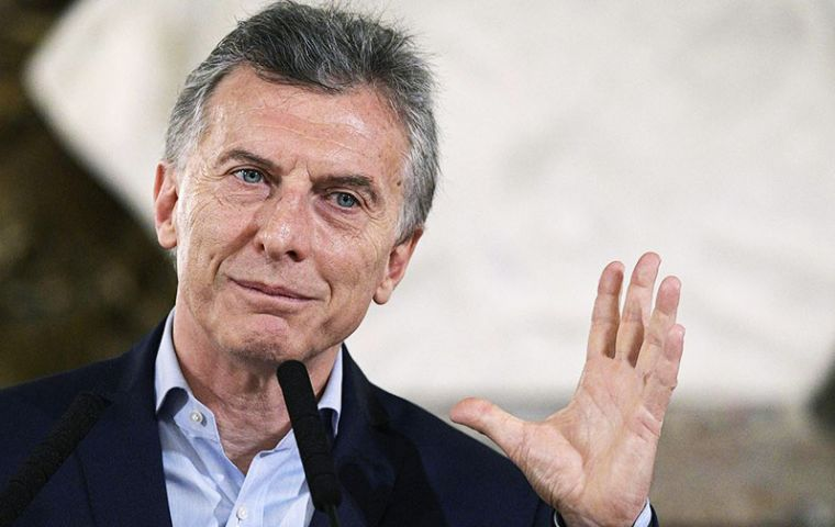 """All that corruption money helps to explain all the things that are missing and the challenges we have"", underlined Macri"