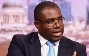 "Best for Britain champion David Lammy MP said the papers showed Conservatives were ""playing Russian roulette with our economy""."