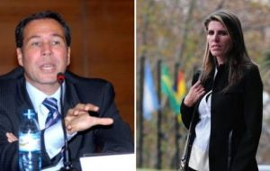 Among documents and intelligence reports found were files on Judge Bonadio, Judge Sandra Arroyo de Nisman, the ex wife of prosecutor Alberto Nisman