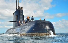 The Argentine submarine ARA San Juan disappeared on 15 November with all 44 crew on board