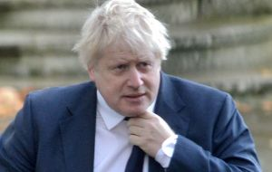 Britain's former Foreign Secretary Boris Johnson called him personally to pressure Mauritius to back down on its demand that the islands be returned