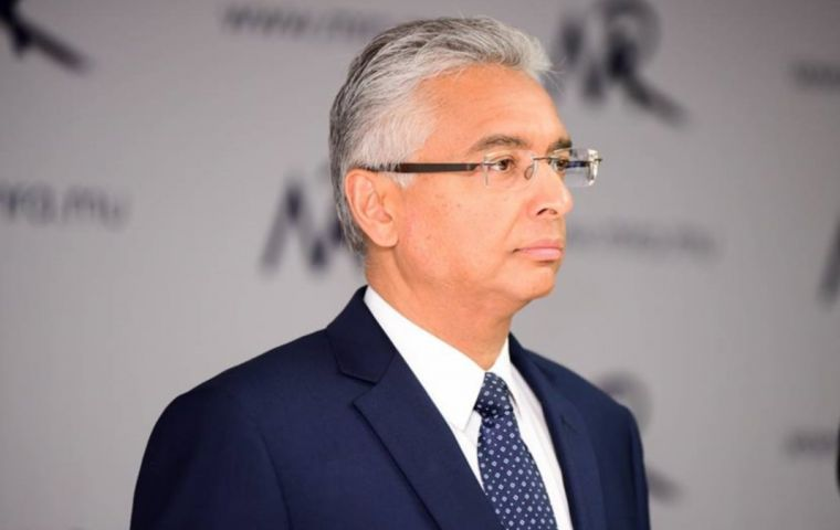 """We have had verbal threats,"" said the Prime Minister of Mauritius, Pravind Jugnauth, in an interview with BBC News."