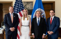 "White House Advisor Ivanka Trump underlined ""the world is more prosperous, more at peace when women across the globe can fully participate in the economy"""