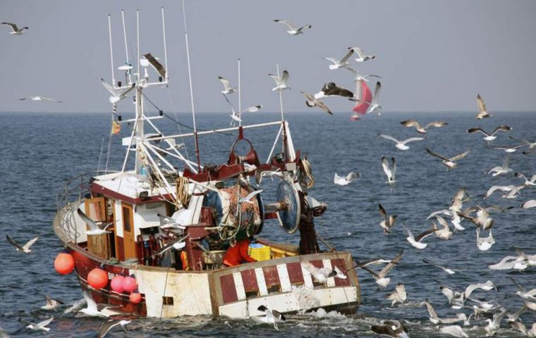 French counterparts, restricted to fishing for scallops between October 1 and May 15, have accused the British of depleting stocks