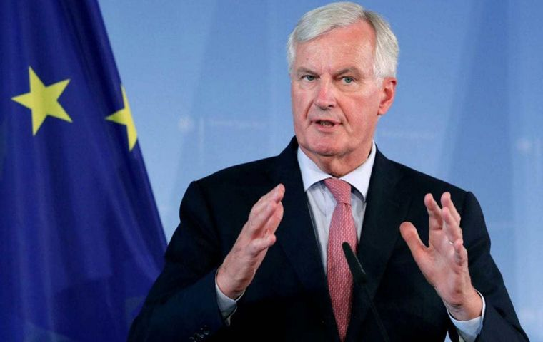 The EU's chief negotiator Michel Barnier said the EU was ready to offer the UK an unprecedented deal but it must not weaken the single market