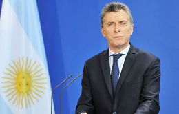 """We have agreed with the IMF to advance all the necessary funds to guarantee compliance with the financial program next year,"" Macri said in a televised address"
