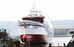 Argos Cies is 75 metres long, has 1,998 gross tonnage and will carry up to 50 crew members. She will be delivered by Nodosa shipyard at a cost of €21 million