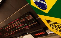 The Brazilian currency slipped to 4.21 Reais to the US dollar, but recovered and ended 4.14 Reais
