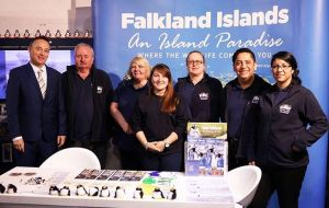 Falklands will have their place in the Pavilion, represented once again by a private delegation that will continue to develop commercial and cultural ties with Uruguay