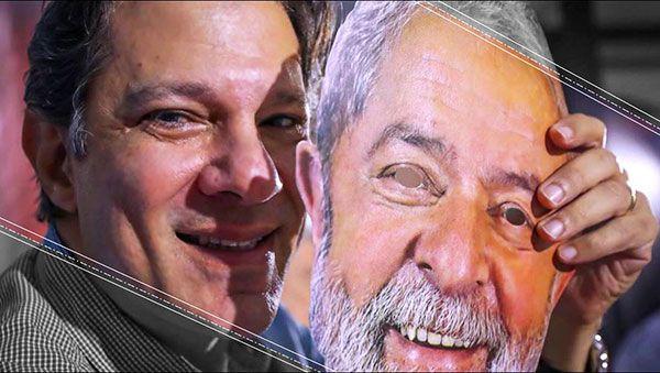 La sentencia significa que el candidato actual es vicepresidente de Lula da Silva, Fernando Haddad, ex alcalde de Sao Paulo, encabeza la lista presidencial del PT