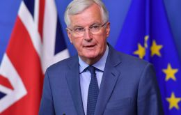 "In an interview with the Frankfurter Allgemeine Zeitung, Mr Barnier said Mrs May's plans ""would be the end of the single market and the European project""."