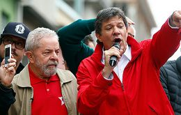 """The people are sovereign regarding the party's candidate. And that candidate is Lula,"" said Fernando Haddad, ex Sao Paulo mayor"