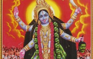 Goddess Kali, who personifies Sakti or divine energy, is widely worshipped in Hinduism. She is considered the goddess of time and change