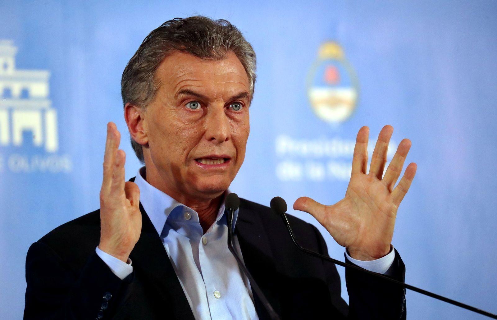 El presidente Macri se dirige a la nación el lunes temprano