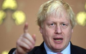 "Johnson fumed in a newspaper column that May's proposal would leave Britain locked in the trunk of a Brussels-driven car with ""no say on the destination"""