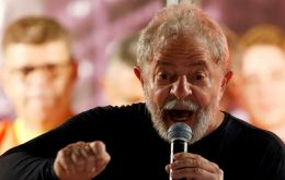 The two terms president and most popular politician in Brazil, Lula da Silva, is currently jailed in Curitiba