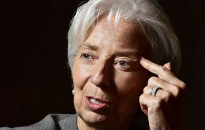"""Discussions were held about how IMF can best support Argentina in the face of renewed financial volatility and a challenging economic environment"" Lagarde said"