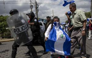 """With each passing day, Nicaragua travels further down a familiar path,"" Haley said. ""It is a path that Syria has taken. It is a path that Venezuela has taken."""