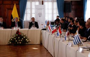 The announcement was made after a two-day meeting of migration officials from Latin America in the Ecuadorean capital, Quito.