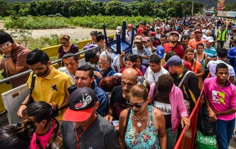 More than 2.3 million Venezuelans have fled the country's hyperinflation and severe shortages, but many do not have valid passports