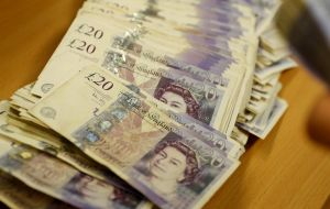 The British currency rallied across the board, rising more than one percent to US$ 1.3052, its highest level in five weeks
