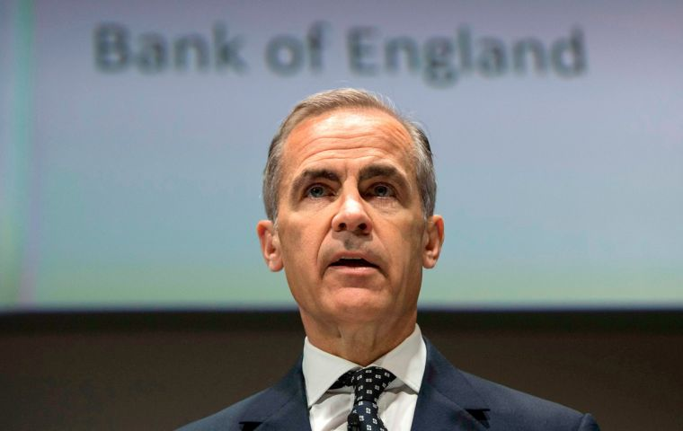 Carney had been due to step down at the end of June 2019, having extended his term by a year already to cover the immediate months after Brexit