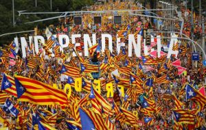 Tuesday's Diada holiday marks the day Barcelona fell to King Philip V in 1714 and for the past eight years has been used as a rallying point for independence