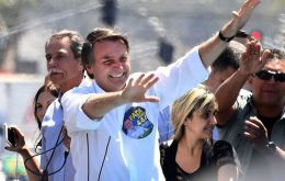 Bolsonaro has climbed four percentage points according to Ibope's latest survey. On September 3, the former Army captain had 22% vote intention