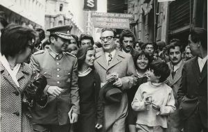 Salvador Allende became president in 1970 in a disputed election. He was also a controversial figure because of his surgeon graduation thesis in 1933