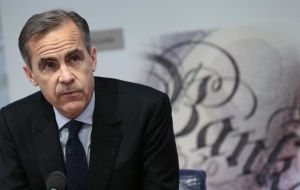 But Carney boosted Mrs. May's position when he said that if she struck a Brexit deal based on the Chequers exit plan, the economy would outperform forecasts