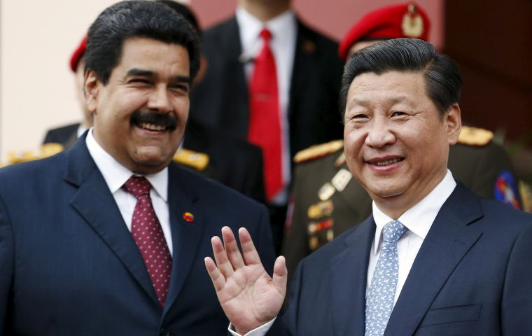 China's Foreign Ministry said president Maduro would visit from Thursday until Saturday at the invitation of President Xi Jinping
