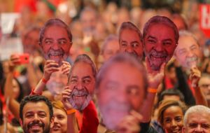 "The party's campaign rolled out advertising this week with the simple message: ""Haddad is Lula."""