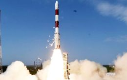 The first all-British radar satellite, called NovaSAR, has launched to orbit on an Indian rocket from Satish Dhawan spaceport