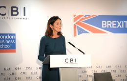 Carolyn Fairbairn said the country should get behind Prime Minister Theresa May's Chequers proposals as a blueprint for a Brexit deal