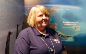 FITB Stephanie Middleton said, not surprisingly, the other six places were mainly taken up by the Falklands' wildlife