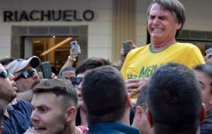 Brazil's most wide-open election in decades hit further complications when Bolsonaro was stabbed on Sept. 6 in an attack that he says nearly killed him