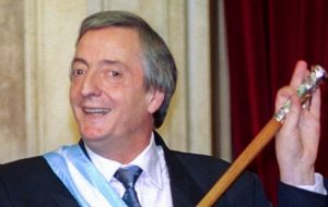 The period includes her two terms as president as well as the presidency of her late husband and predecessor, Nestor Kirchner (2003/2007).