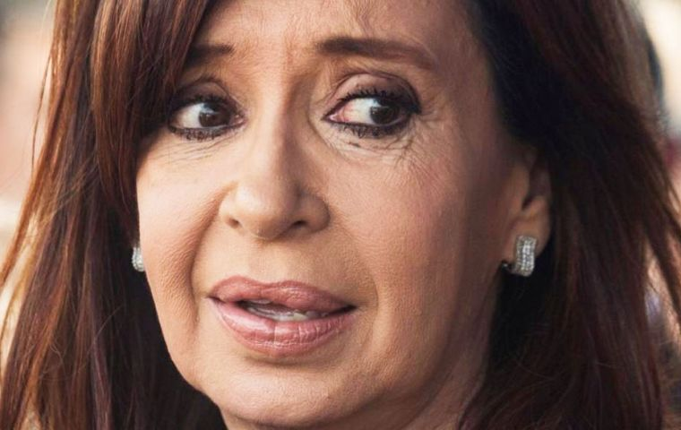 Argentina's official judicial news agency asked Cristina Fernandez be taken into custody and for authorities to seize about US$100 million from the former leader