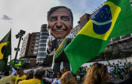 Bolsonaro, who is in the hospital and unable to campaign, has 28.2% of voter support, according to the survey by pollster MDA