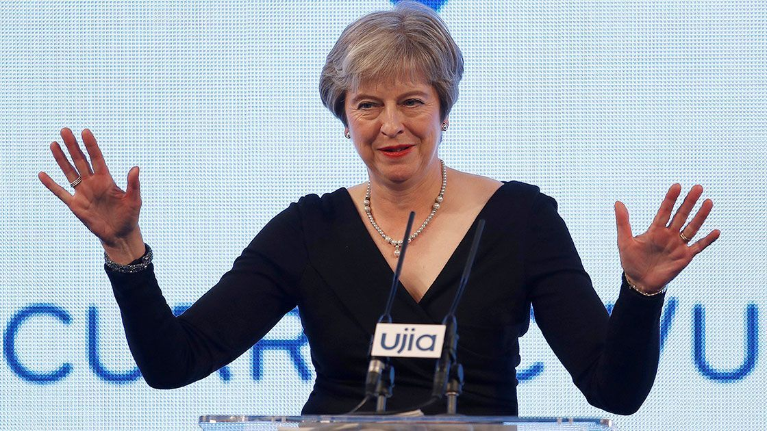 "But Theresa May told the BBC that if Parliament does not ratify her Chequers plan ""I think that the alternative to that will be having no deal&#148"