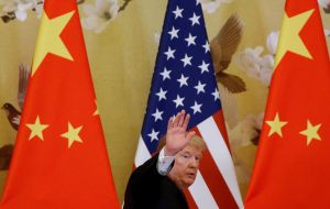 China is reviewing plans to send a delegation to Washington for fresh talks in light of the U.S. decision, the South China Morning Post reported on Tuesday