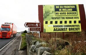 "The thorniest issue remaining is how to avoid a disruptive post-Brexit ""hard border"" for troubled Northern Ireland on the UK's only land border with the EU"
