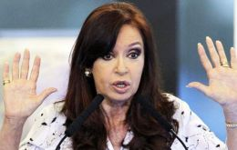 """They can dig up all of Patagonia, but they will never find anything because I never received any illicit money,"" the Cristina Fernandez statement said"