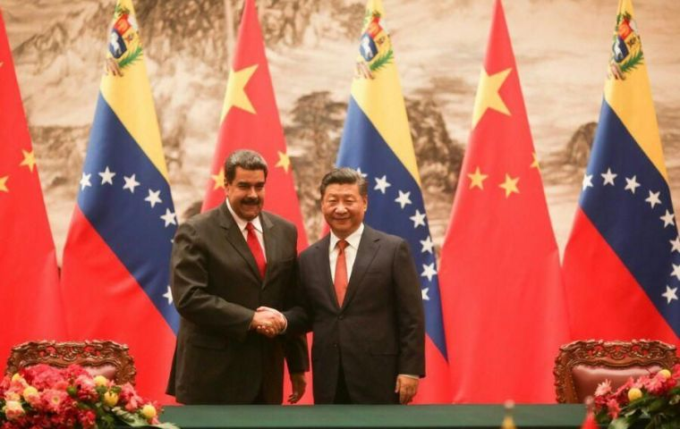 """We are taking the first steps into a new economic era,"" Maduro said. ""We are on track to have a new economy, and the agreements with China will strengthen it"""