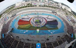 According to the host organization, HWPL, the peace parade contained the message about the peaceful world that the global village dreams of achieved through religious harmony, peace education, and int